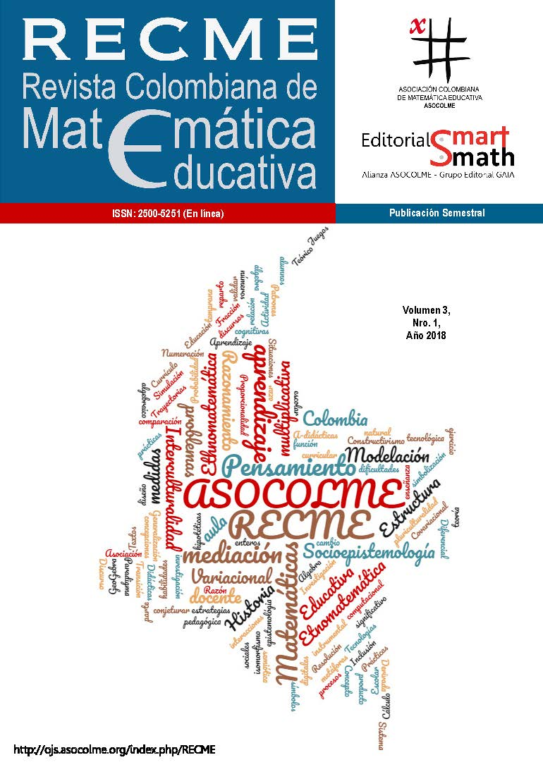 Revista Colombiana de Matemática Educativa